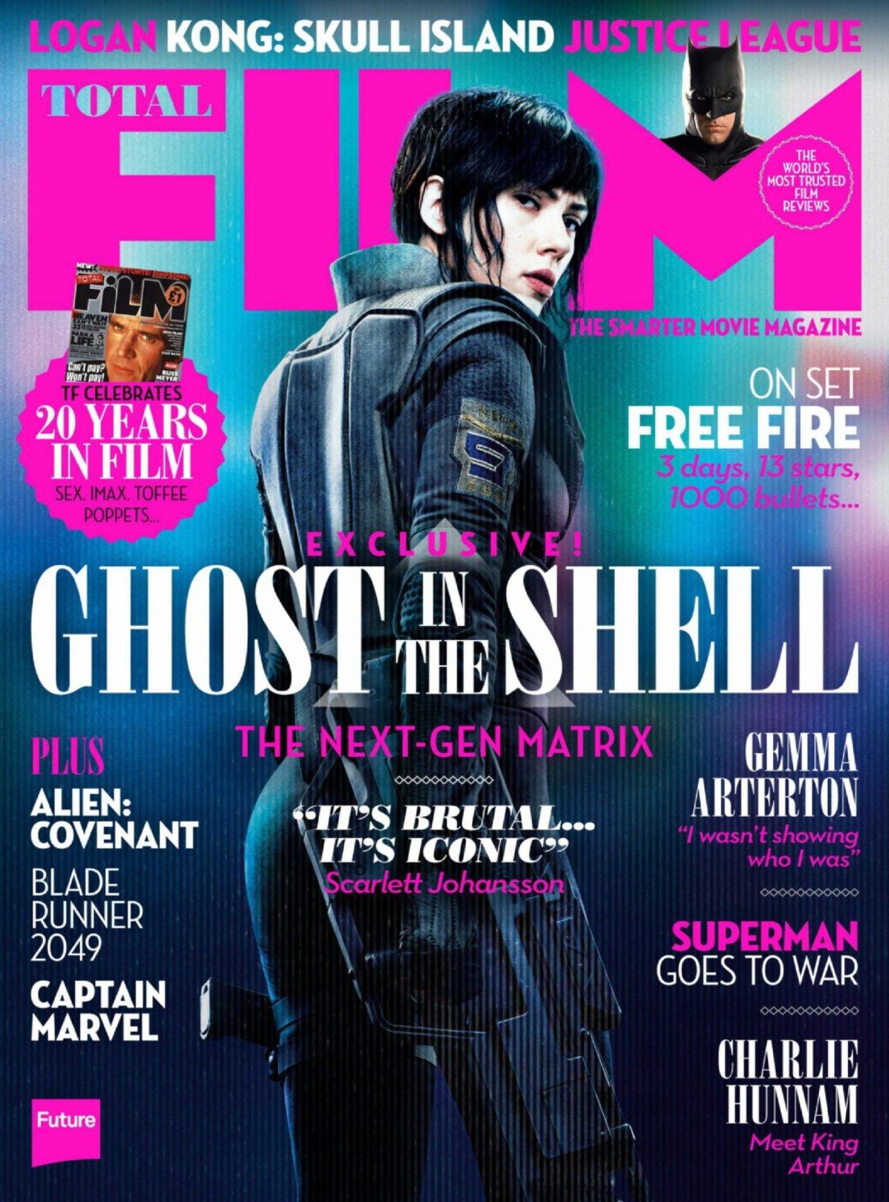 Total Film 256 April 2017 Scarlett Johansson In Ghost In The Shell H81 Amazon Com Books