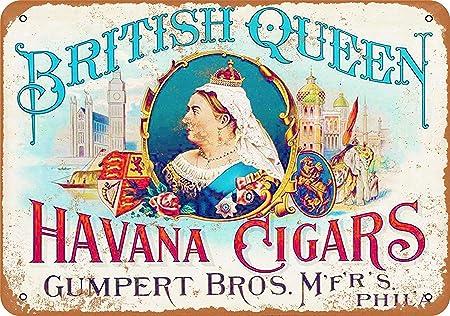 Sary buri British Queen Havana Cigars Metal Cartel De Arte ...