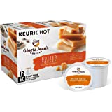 Gloria Jean's Butter Toffee Keurig Single-Serve K-Cup Pods, Medium Roast Coffee, 72 Count (6 Boxes of 12 Pods) ( Packaging May Vary )