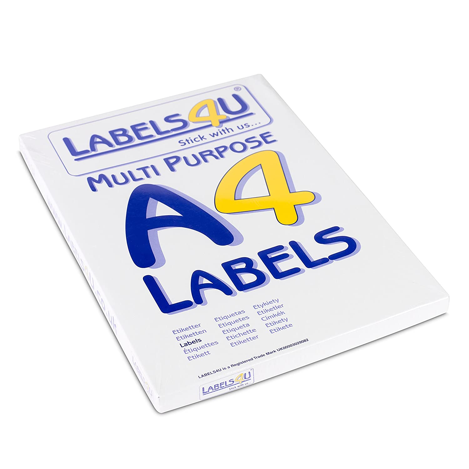 14 Labels Per Page/Sheet, 100 Sheets Self-Adhesive A4 Address Labels ...