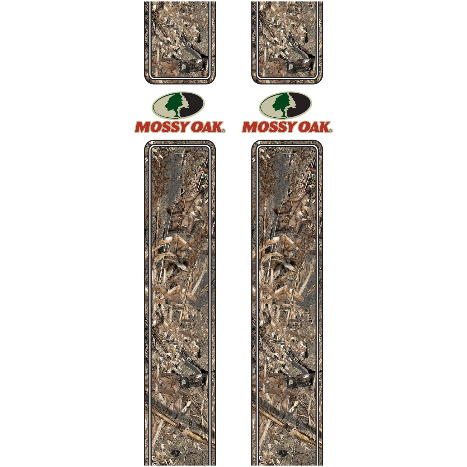 Mossy Oak Graphics 16001-DB Duck Blind Rear Quarter Panel Graphics with Mossy Oak Logo