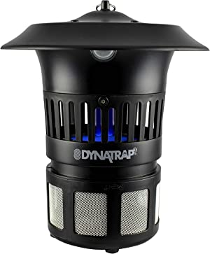 DynaTrap DT1100 Insect Trap Optional Wall Mount, 1/2 Acre Coverage, Black