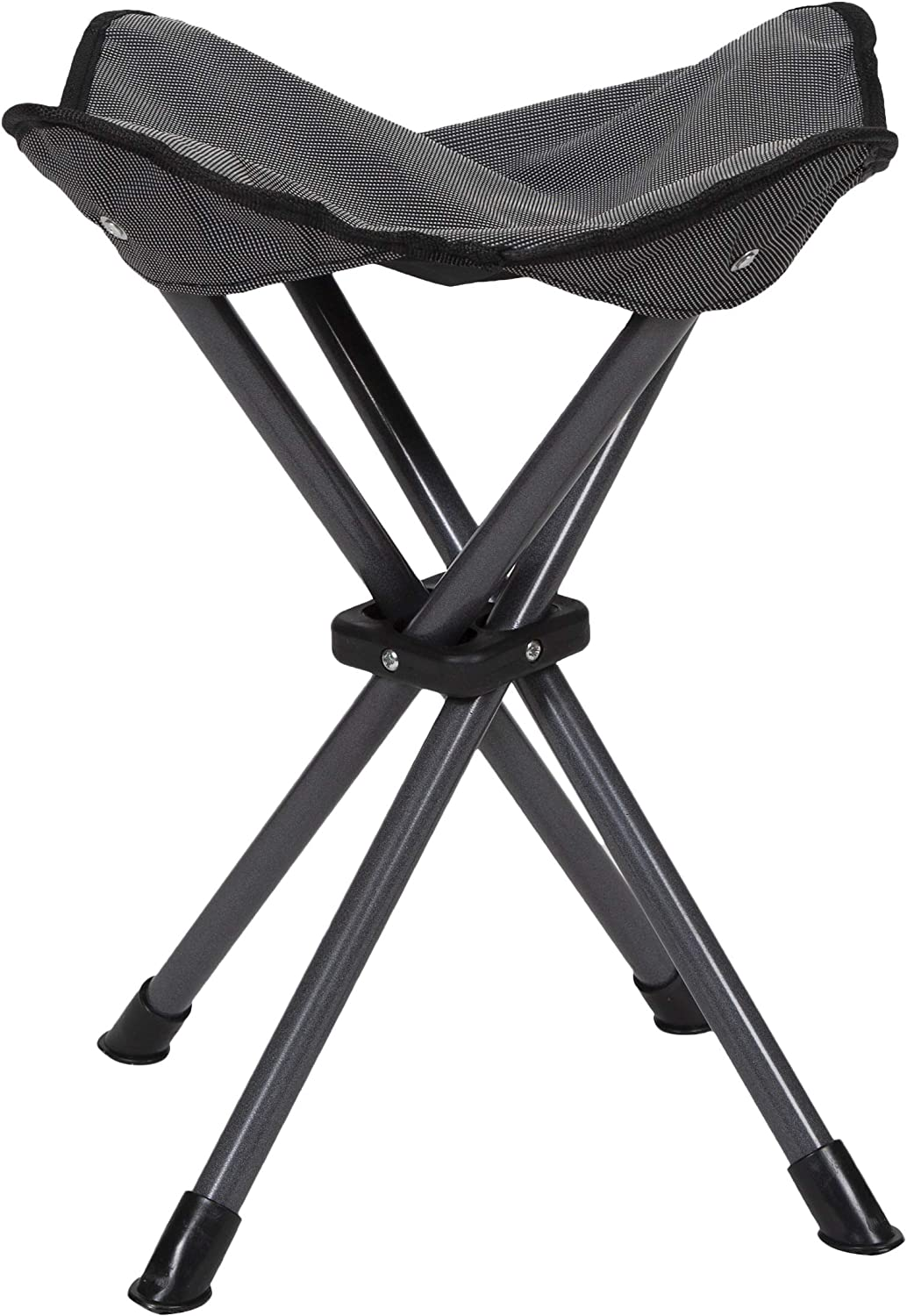 STANSPORT – Deluxe 4 Leg Camping Stool, Compact Lightweight Portable Stool for Outdoor Use