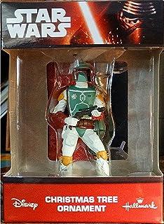 Amazon.com: Kurt S. Adler 8-Inch Fabric Mache Star Wars Boba Fett ...