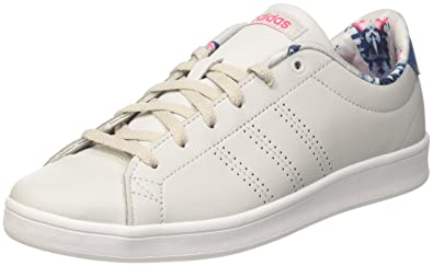 online store 561eb bfe68 adidas neo Womens Advantage Cl Qt W GreoneGreoneSuppnk Sneakers - 7 UK