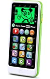 LeapFrog Chat and Count Emoji Smart Phone Learning Toy, Green