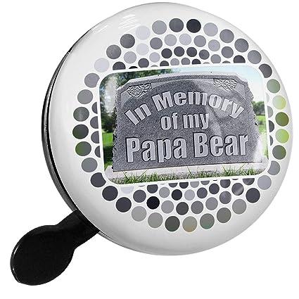 Amazon.com : NEONBLOND Bike Bell in Memory of My Papa Bear ...