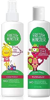 product image for Fresh Monster Kid's Detangler (Combo with Shampoo, Watermelon)