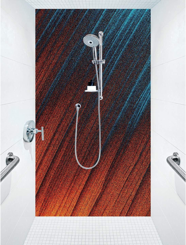 Mampara de ducha de aluminio compuesta como placa individual o juego de placas para ducha de esquina corte a medida – Diseño Mad Wips Cuba: Amazon.es: Bricolaje y herramientas