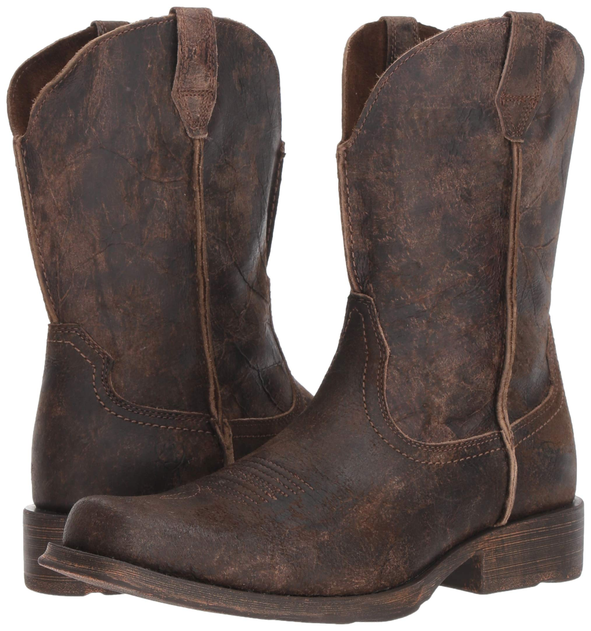 Ariat Men's Rambler Western Boot, Antiqued Grey, 13 2E US by ARIAT (Image #6)