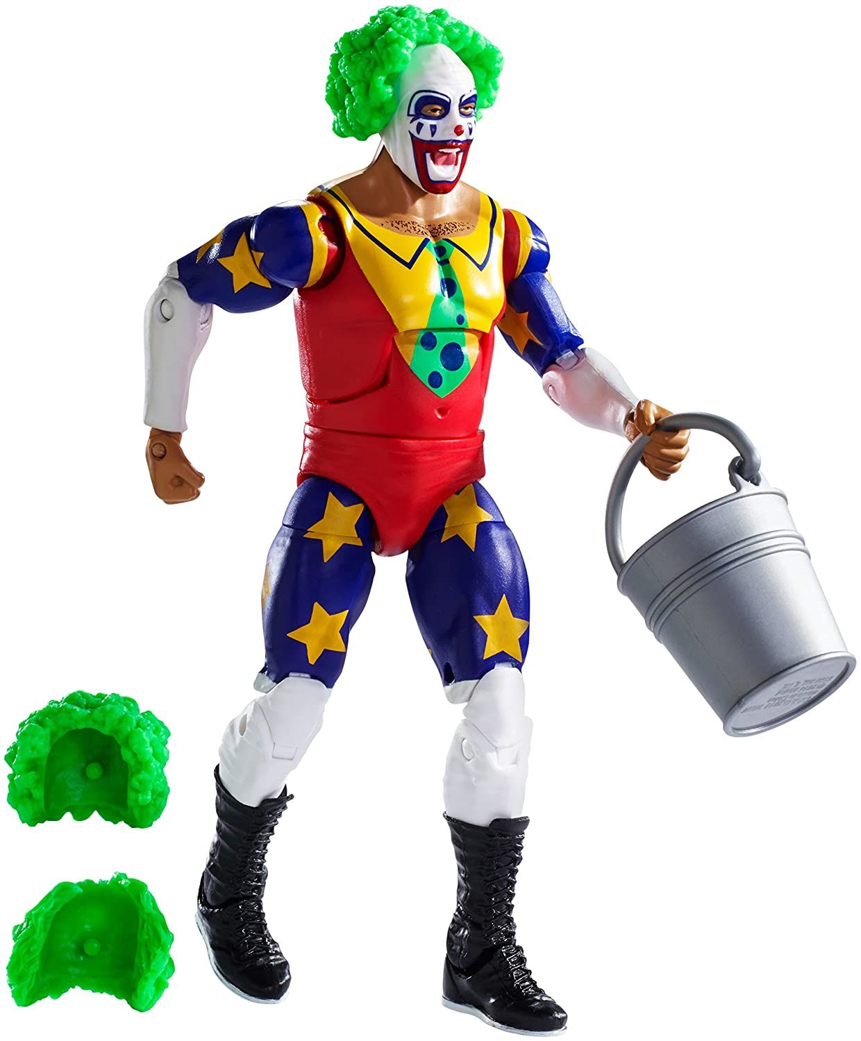 WWE Elite Series 34 Action Figure - Doink the Clown
