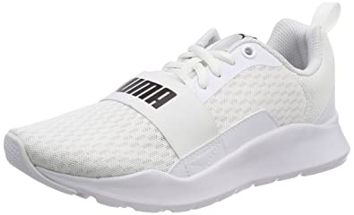 Puma Unisex s White Sneakers-8 UK India (42 EU) (4059506222849)  Buy ... 1fa44cb64a