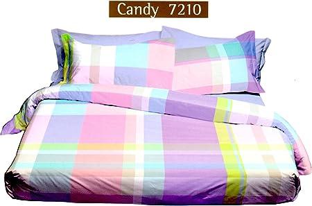 Copripiumino Singolo Bossi.Bossi Copripiumino Candy Var 7210 Singolo Tinto In Filo Escluso