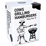 Cows Against Hamburgers: Adult Party Card Game by Towpath Gaming