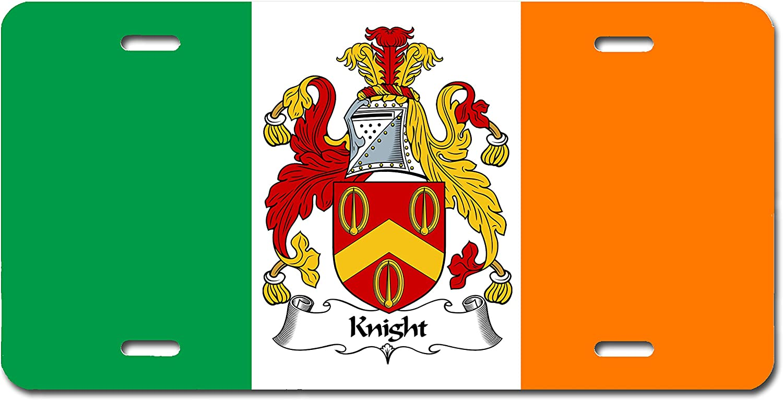 IRELAND Flag Custom License Plate IRISH Emblem PAINT Version II