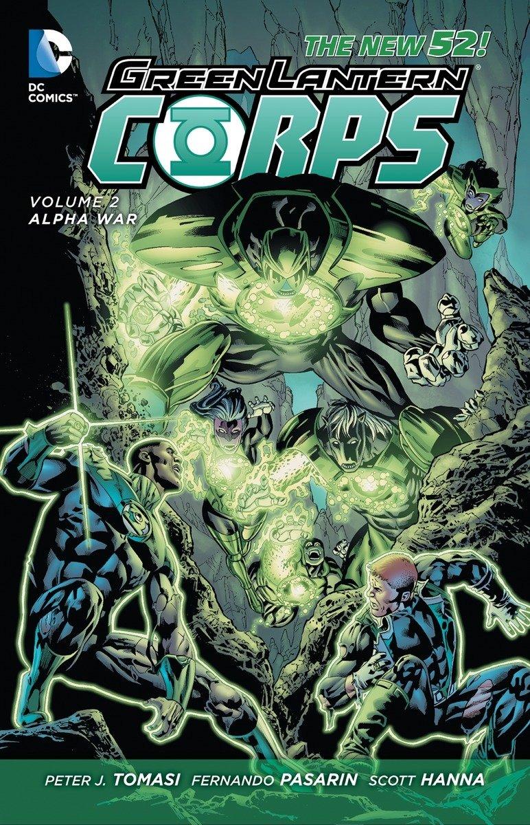 Read Online Green Lantern Corps, Vol. 2: Alpha War (The New 52) ebook