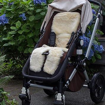 Amazon.com: Bowron Babycare - Cochecito de piel de cordero: Baby