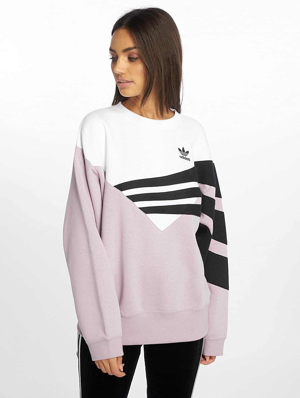 affordable price finest selection los angeles adidas Originals Damen Pullover diagonal Violet 32: Amazon