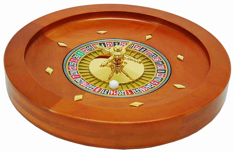 Unbekannt Roulette bak 36 cm Mahonie hout/metaal