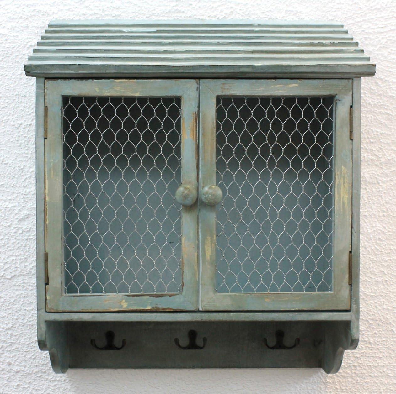 Armadio a Parete 48 cm Loft 12076 Armadio Scaffale a Parete Vintage Shabby Ganci-Guida Ganci