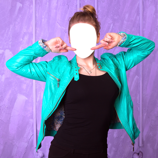 Woman Jacket Photo Editor