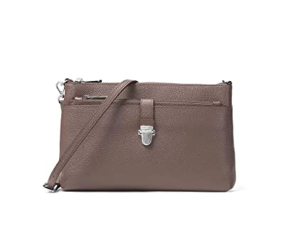 d2b18bcff29 Michael Kors - Mercer Large Snap Pocket Crossbody, Cinder  Amazon.co ...