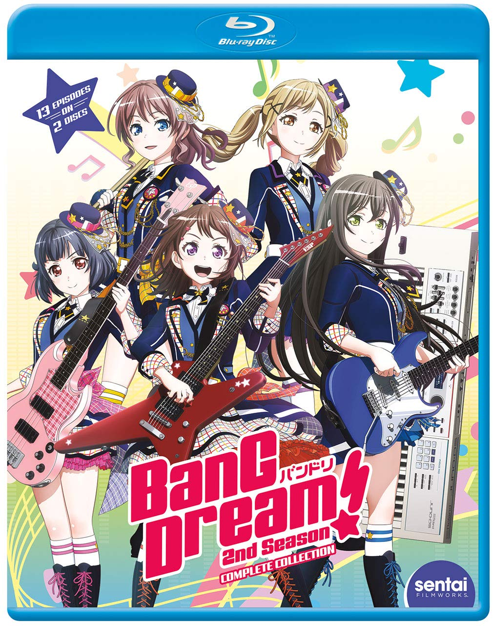 BanG Dream! 2nd Season Blu-ray (Dual Audio)