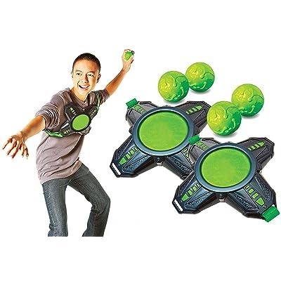 Diggin Slimeball Dodgetag Game Set. Slime Dodge-Balls & Target Tag Vests For Kids: Toys & Games