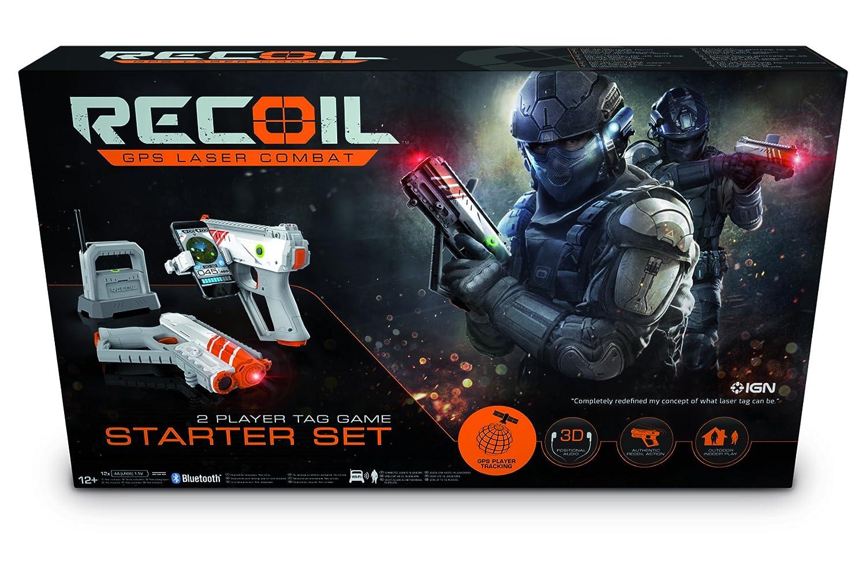 Recoil – Pack Starter, Juego de Pistolas Laser por GPS (90515) Recoil - Pack Starter Goliath Games