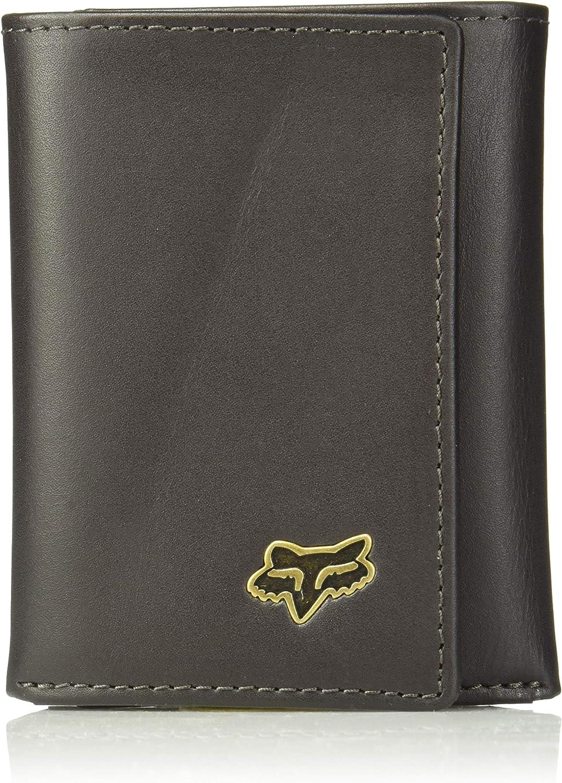 Fox Men's Trifold Leather Wallet