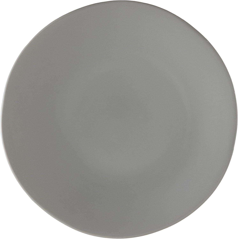Amazon Com Fortessa Vitraluxe Dinnerware Heirloom Dinner Plate 10 75 Inch Set Of 4 Smoke Plates