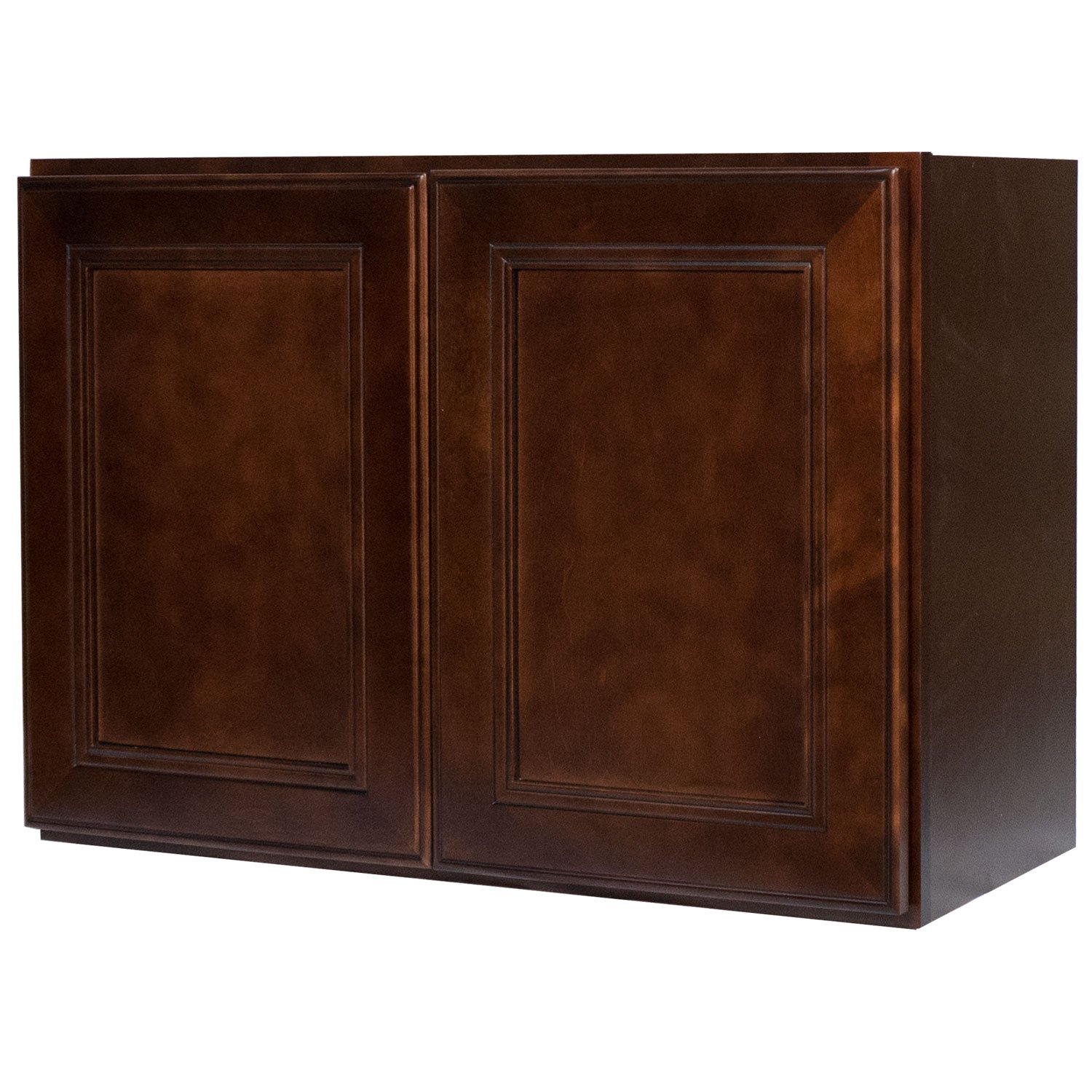 Bon Amazon.com: Everyday Cabinets 36 X 18 X 12 In.Soft Close Double Doors  Bridge Wall Cabinet In Leo Saddle With 2 Doors RTA: Kitchen U0026 Dining