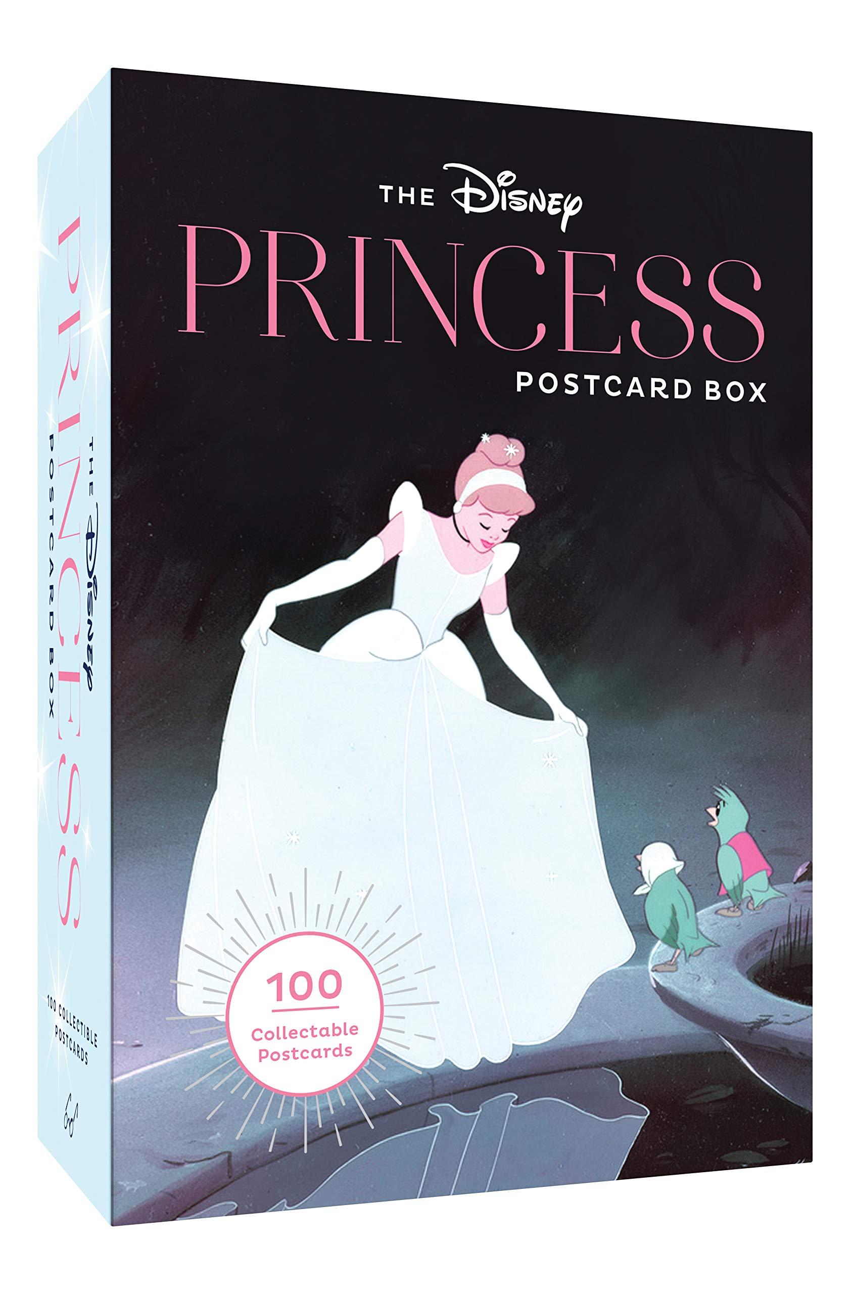 the disney princess postcard box 100 collectible postcards
