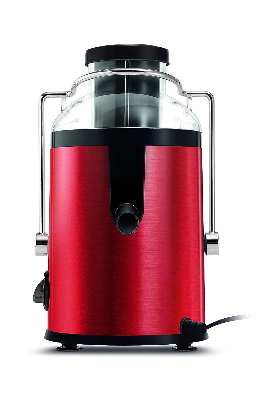 Sencor SJE 742RD 742RD-Exprimidor (separación automática, Capacidad de 1,2 l, 2 velocidades, 220-240 V, 50/60 Hz), 400 W, 1.2 litros, Rojo: Amazon.es: Hogar