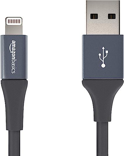 AmazonBasics - Cable USB A con conector Lightning, colección ...