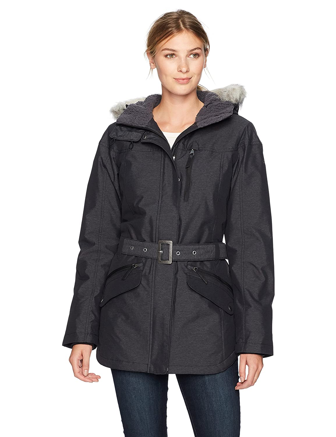 Columbia 1515501 Chaqueta Impermeable con Capucha para Mujer Carson Pass II Jacket
