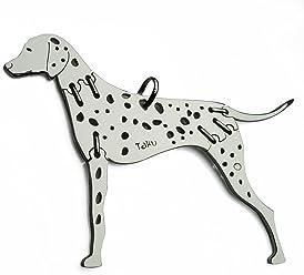 DALMATINER Hunde Tier-Anhänger Medium 925 Sterling Silber Charm Schmuck 078CM
