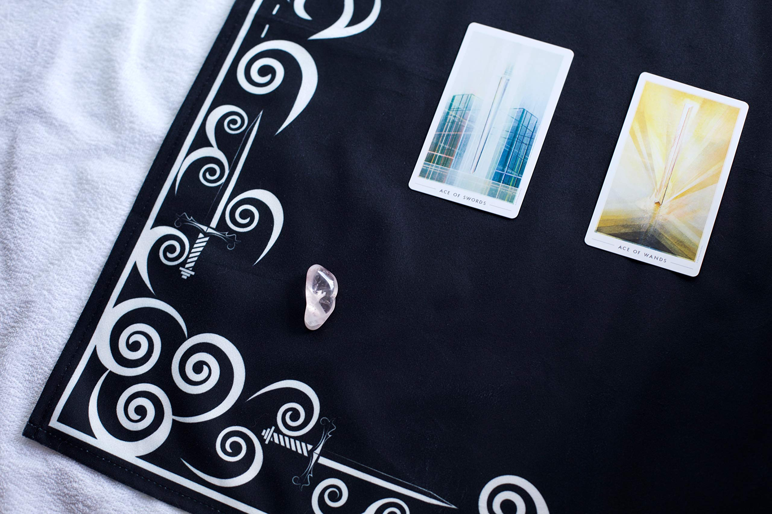 Tarot Cloth and Moon Tapestry Bundle by Hidden Crystal Tarot (Image #5)