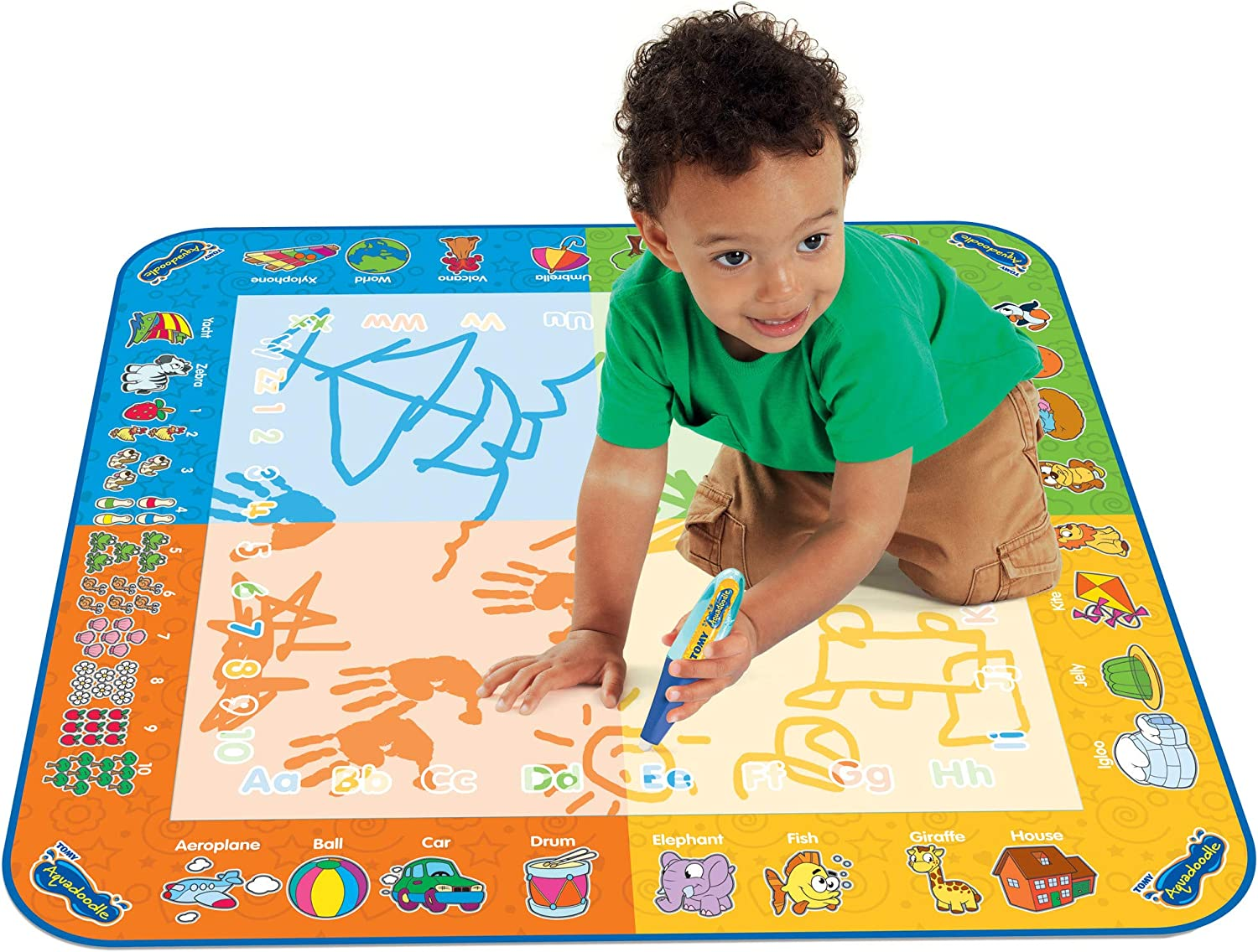 Aquadoodle Classic Large Water Doodle Mat, Family Survival Guide in Lockdown