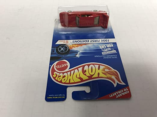 1970 DODGE CHARGER DAYTONA 3 diecast 1//64 scale car Gold Rims 7-spke variant 1996 First Editions Hot Wheels No
