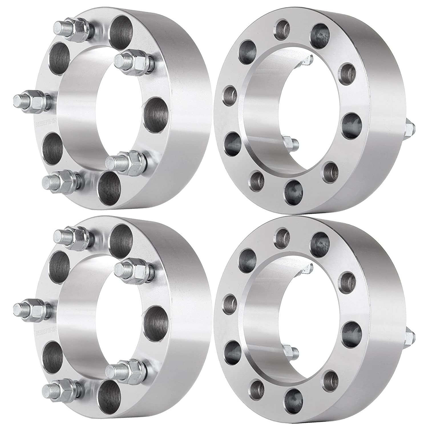ECCPP Replacement Parts for 5X5 5 Wheel Spacer 50MM (4) 2