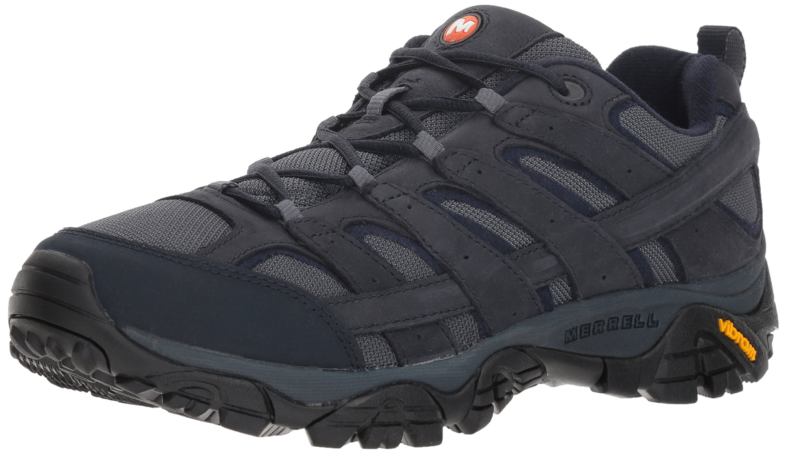 Merrell Men's Moab 2 Smooth Hiking Boot, Navy, 7 M US