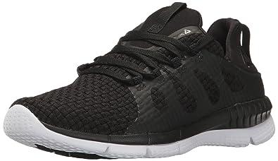 f917eedd6e0 Reebok Women s Zprint HER MTM WVN Running Shoe Black White 6 ...