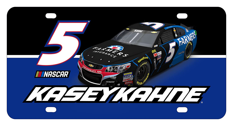 NEW Kasey Kahne #5 LICENSE PLATE NASCAR