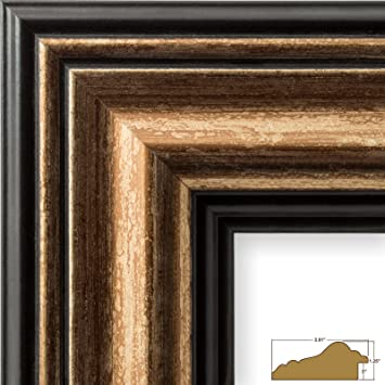 craig frames 21307201 24 by 36 inch picture frame smooth wrap finish 3015
