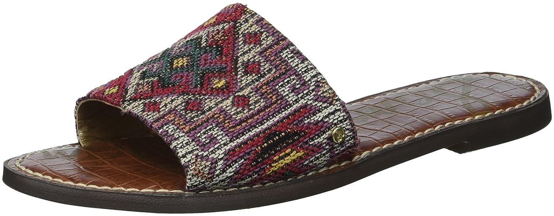 Sam Edelman Women's Gio Slide Sandal B077458D2B 5 B(M) US Red/Multi