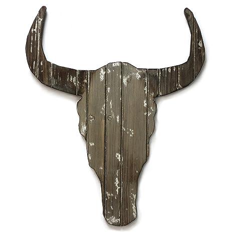 Amazon.com: Fetco Home Décor Wild Stag Head Wall Art, 14.8\