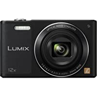 Panasonic Lumix DMC-SZ10EG-K Fotocamera, 16MP, Optical Zoom 12x, Stabilizzatore O.I.S, Wi-Fi Certified, Video HD, Nero