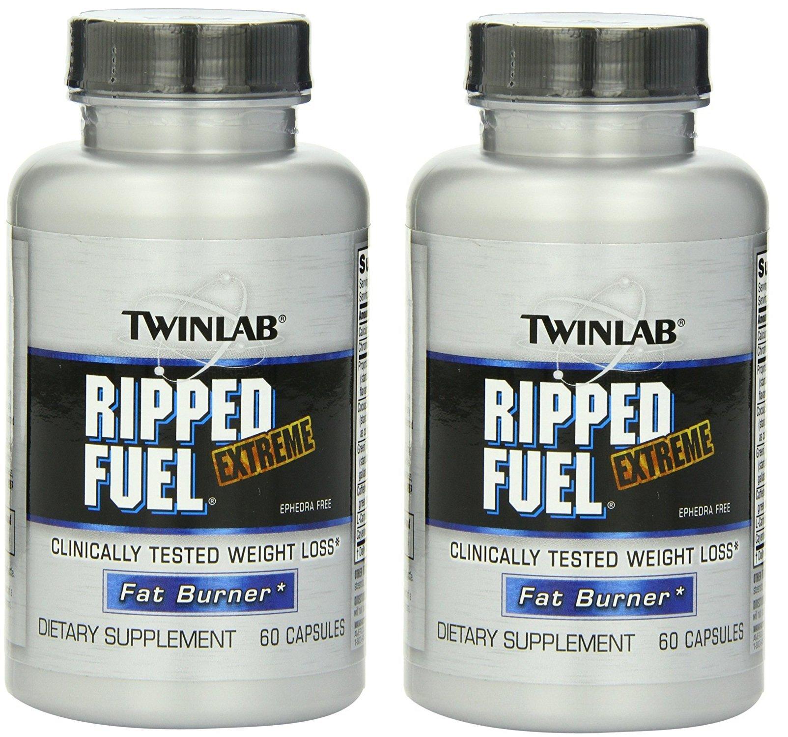 Ripped Fuel Extreme - Fat Burner (Extreme Ephedra Free 60 x 2)