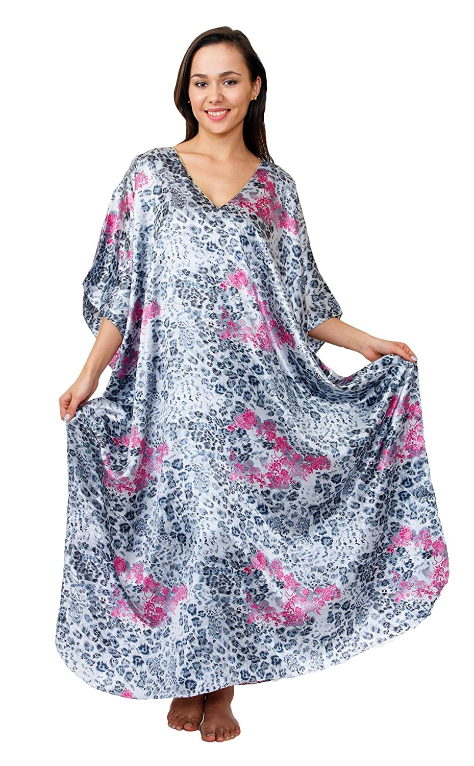 Up2date Fashion Caftan/Kaftan, Cheetah Print, Caf-45C2